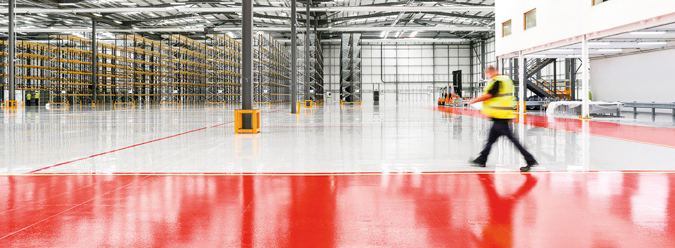 Epoxy & Polyurethane Resin Flooring for Industrial Projects